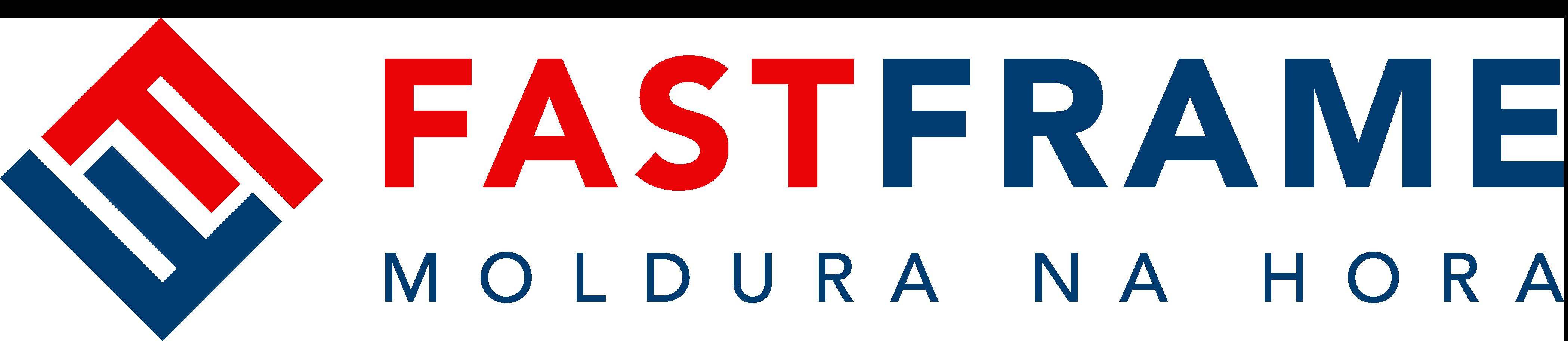 Logo Fast Frame colorido horizontal